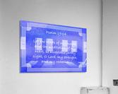 Psalm 19 14 2BL  Acrylic Print