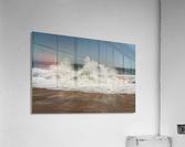 Big wave  Impression acrylique