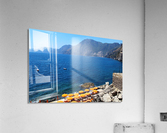 Praiano Beach - Amalfi Coast  Acrylic Print
