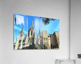 Amazing Barcelona Cathedral  Acrylic Print