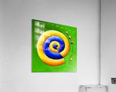 Neosmirana - running space snail  Acrylic Print