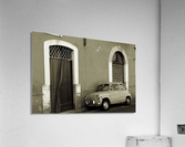 Vintage Car in Black and White  Acrylic Print