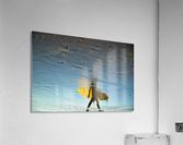 YELLOW SURFER  Acrylic Print