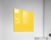 Yellow  egg shape  Acrylic Print