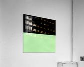 ABSTRACT GREEN GLITTER  Acrylic Print