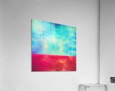Red Horizon  Acrylic Print