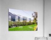 Niedernsill Landscape Austrian Alps  Acrylic Print