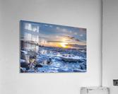 Winter contrast  Impression acrylique