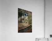 Moon over St. Remy  Acrylic Print