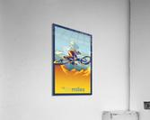my air miles mountain bike poster  Acrylic Print