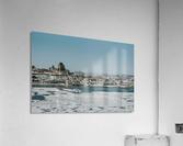 Vieux-Québec en hiver  Impression acrylique