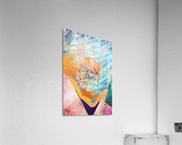 Abstract Sunset - Illustration VI  Acrylic Print