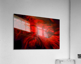 Red Fire   Impression acrylique