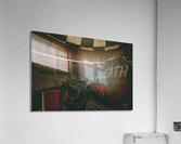 Wall of death Harley Davidson  Acrylic Print