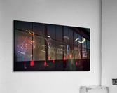 Memories of Samurai Black Armour Collage  Acrylic Print