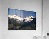 Snowy Alps  Acrylic Print