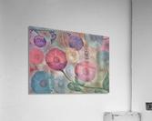 GERBERA DAISY SUMMER MEADOW PRINT  Acrylic Print