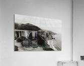 Bixby Bridge B&W  Impression acrylique