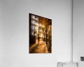 Silhouette  Tower Bridge London  Impression acrylique