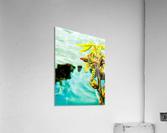 Floating  Impression acrylique