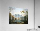 View of Snowdon  Acrylic Print