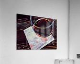Wine Art  Acrylic Print