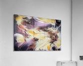 Cosmic - multicolored abstract swirl wall art  Acrylic Print
