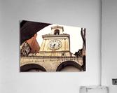 The Church  - Tower Clock  Acrylic Print