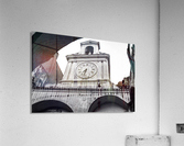 The Church - Ancient Tower Clock  Acrylic Print