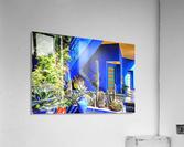 Cubist Villa Jardin Majorelle Marrakech  Acrylic Print