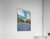 Storm Over Main Street  Acrylic Print