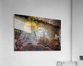 Angel in Krylon  Acrylic Print