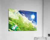 Sun & Surf  Acrylic Print