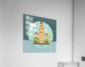 london watch landmark england  Acrylic Print