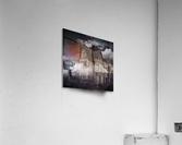 haunted night building  Acrylic Print