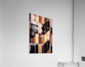 architectural design architecture building colors  Acrylic Print