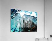 architectural design architecture building business  Acrylic Print