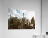 architectural design architecture buildings city  Acrylic Print