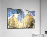 Three masks by Juan Gris  Acrylic Print