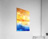 Abstract Warm Sunset I  Acrylic Print