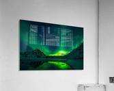 iceland aurora borealis  Acrylic Print