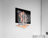 rag flats onion flats llc architecture drawing graffiti architecture  Acrylic Print