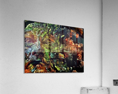 The Face of Nature  Acrylic Print