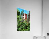 Tower At Jardin Majorelle Marrakech  Acrylic Print