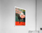 the circus girl vintage poster girl  Acrylic Print