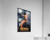 vintage poster print advertisement  Acrylic Print