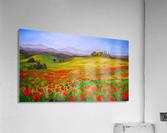 painting art landscape acrylic  Acrylic Print
