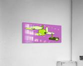 green zebra  Acrylic Print