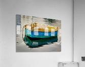 Anchored Boat at Dawn  Acrylic Print