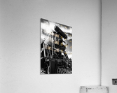 Canadian Steam Locomotive 6015 B  Acrylic Print